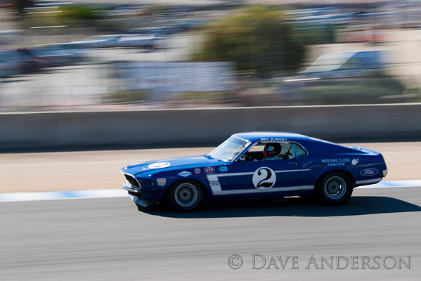 Car #102, 1969 Ford Mustang(4949cc), 2-Bruce Canepa(Scotts Valley, CA), 1st Place, Best Race Lap: 01:45.154 (Race Group 7A, 1966-1972 Trans Am)